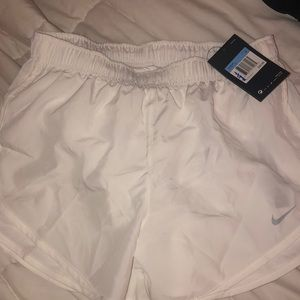 White Women's Nike Shorts
